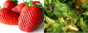 strawberries and greens resized