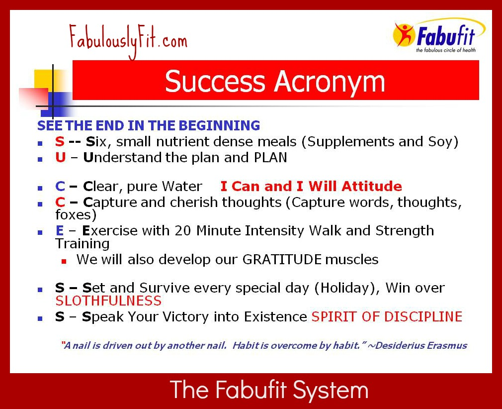 SuccessAcronymnPM