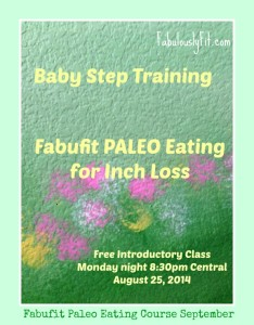 Babystep Training Paleo EatingFreeClass