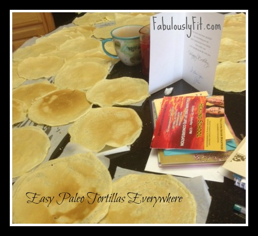 Easy Paleo Lunch with Tortillas