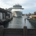 Our Ship in Port at Sydney