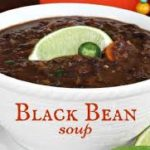 Black Bean Soup made in 30 minutes