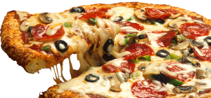 Pizza is a very dangerous transfat food.